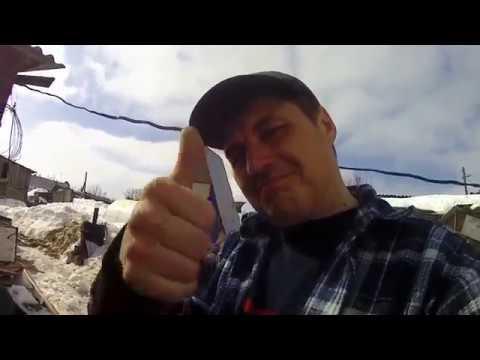 п.Гордеевский, переулок Прудской// Самодельный прицеп к мотоблоку