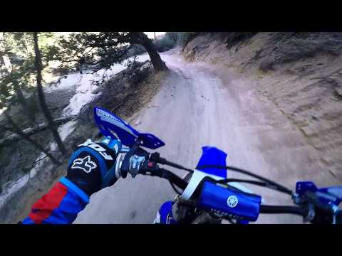 Fast Dirt Bike Trail Ride GoPro Hero 4