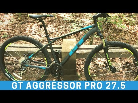 $299 GT Aggressor Pro 27.5 Mountain Bike from Dick's Sporting Goods