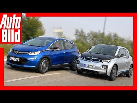 Opel Ampera-e vs BMW i3 ( Goldenes Lenkrad 2017) Test/Review/Details