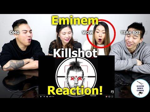 KILLSHOT [Official Audio] | Reaction - Australian Asians看阿姆火力全開炮轟回應MGK (видео)