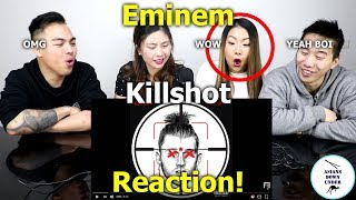 KILLSHOT [Official Audio] | Reaction   Australian Asians看阿姆火力全開炮轟回應MGK