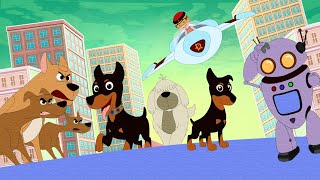 @Mighty Raju - Judwa Moby | Aryanagar Mein Pets Ka Dhamaal | Fun Kids Videos | Fun Carton for Kids