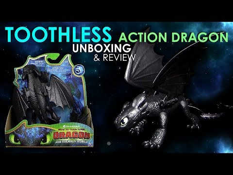 Dragons 3 - Ohnezahn / Toothless ™ posable Actionfigur !!! Neu !!! Unboxing & Review