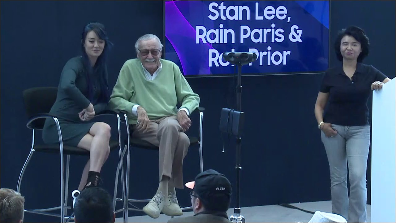 SDC 2017 Session: Comic Books, Movies and Music - An AMA Session with Stan Lee and Rain Paris thumbnail