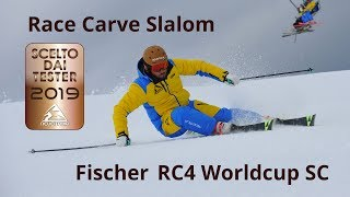 Fischer RC4 Worldcup SC - Neveitalia Ski-Test 2018/2019