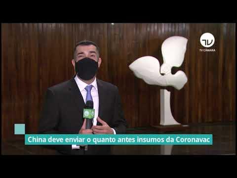 China deve enviar o quanto antes insumos da Coronavac - 20/01/21