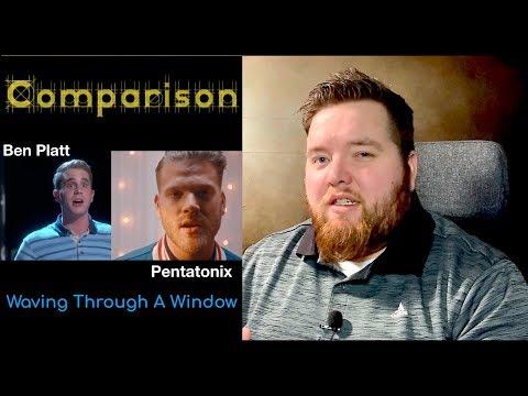 Comparison | Waving Through A Window Pentatonix and Ben Platt | Patron Request | Jerod M Reaction