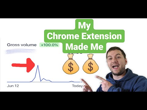 Make Money From Developing Chrome Extensions | Chrome Extension Development