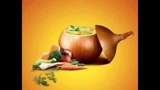 Луковый суп Франция на кухне