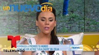 Carolina Gaitán está feliz por su exitoso presente   Un Nuevo Día   Telemundo