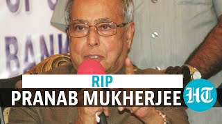 Pranab Mukherjee dies: President Kovind, PM Modi, others offer condolences  IMAGES, GIF, ANIMATED GIF, WALLPAPER, STICKER FOR WHATSAPP & FACEBOOK