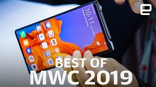 The Best of MWC 2019: Foldables, wearables, and all the rest