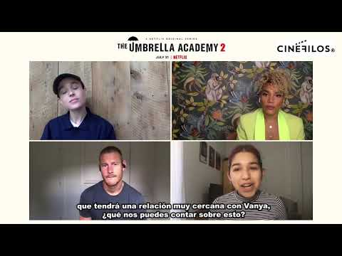 Entrevista a Ellen Page, Tom Hopper y Emmy Raver-Lampman por THE UMBRELLA ACADEMY 2