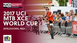 2017 UCI Mountain bike Eliminator World Cup - Apeldoorn (NED) full report