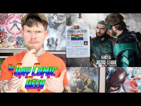 Justice League - A Gay XXX Parody Part 2 - Review