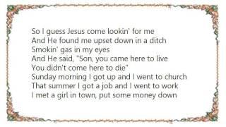 Brad Cotter - I Came Here to Live Lyrics
