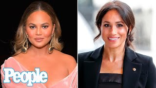 Chrissy Teigen Reveals Meghan Markle Reached Out to Her After Son Jack's Death | PEOPLE