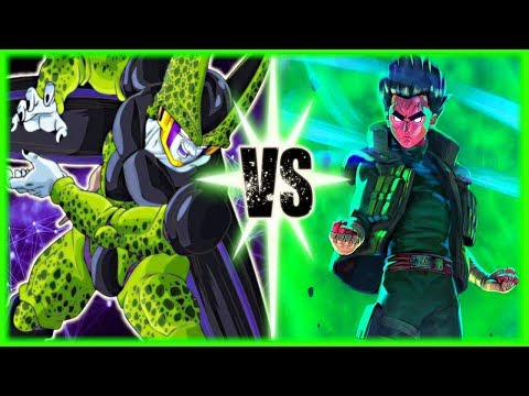 Perfect Cell Vs Rock Lee Part 2