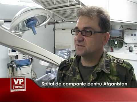 Spital de campanie pentru Afganistan