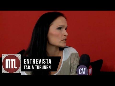 Tarja Turunen video Entrevista MTL - Diciembre 2015
