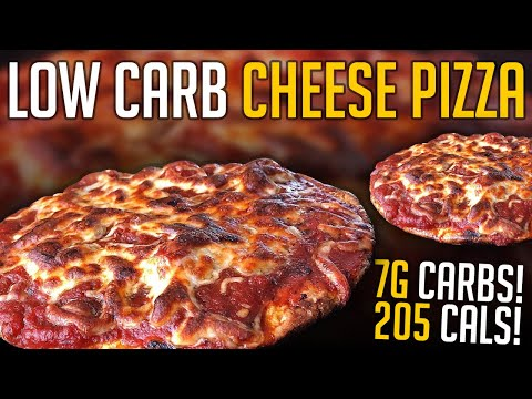 Low Carb Pizza Recipe w/ Only 205 Cals & 7g Carbs!