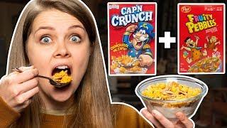 Crazy Cereal Combos Taste Test