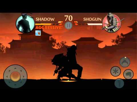 SHADOW FIGHT 2 INTERLUDE CHAPTER 12: SHOGUN VS  SHOGUN