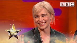 Emilia Clarke Explains Why Brad Pitt Gave Her The Best Night Of Her Life | The Graham Norton Show