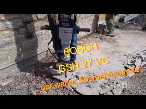 Abbruchhammer Bosch GSH 27 VC in Beton