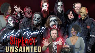 "Slipknot   Unsainted (REACTION) ""What's Poppin!"""
