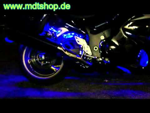 LED RGB Multicolor Motorrad Beleuchtung Styling Tuning Zubehör Teile