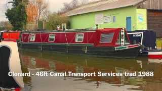SOLD Clonard - 46ft Canal Transport Services Trad 1988