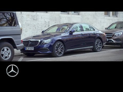 Mercedes-Benz E-Class Remote Parking Pilot & Parking Pilot