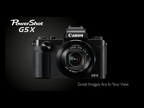 Great Images Are In Your View with the Canon PowerShot G5x Digital Camera
