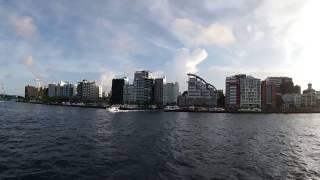 モルディブ首都マレに上陸!!ItstrikescapitalMale,Maldives.