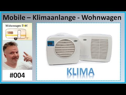 #004 Mobile Klimaanlage Wohnwagen Camping / Wohnwagen - TOM