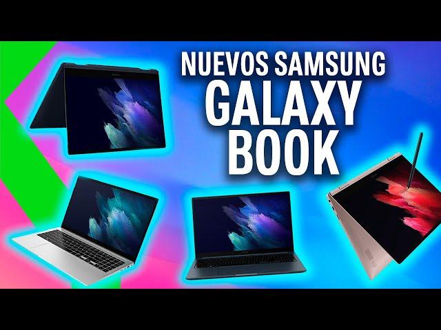 SAMSUNG GALAXY BOOK, Book Odyssey, Book Pro, Book Pro 360 - Resumen del Galaxy Unpacked en 7 MINUTOS