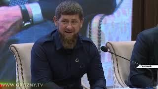 Рамзан Кадыров принял участие в пленарном заседании VI Международного форума СМИ СКФО