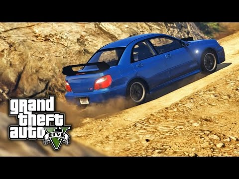 GTA V PC E07 - Subaru Chiliad Mountain Rally Challenge (Car And Map Mod)