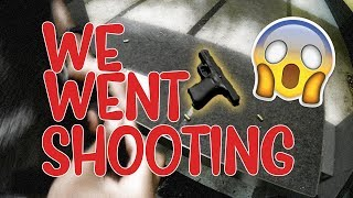 SHOOTING RANGE WITH MOM    KIDD FROST VLOGS