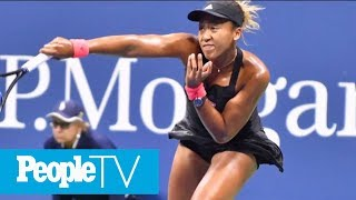 U.S. Open Champ Naomi Osaka Couldn't Tell If Crowd Was Booing At Her | PeopleTV