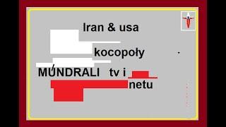 Iran & usa – Głąby TV i inne Młoty netowe