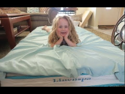 LinenSpa 8″ Spring & Foam Mattress REVIEW – NATALIE'S NEW TWIN BED!! | beingmommywithstyle