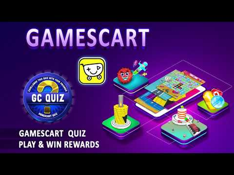 Gamescart - New games and friends challenge