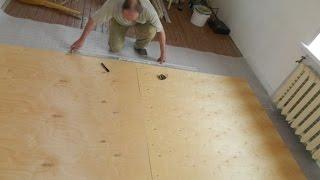 Как устранить скрип деревянных полов, фанера, линолеум