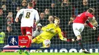 Man Utd 10 Sheff Utd  Emirates FA Cup 2015/16 R3  Goals & Highlights