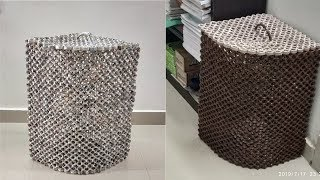 Newspaper Laundry Basket || Laundry Basket || Newspaper Craft