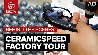 Behind The Scenes At CeramicSpeed   Bearings, Jockey Wheels & Super Fast Chains