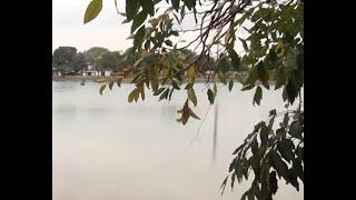 Lagoa Grande, cartão postal de Patos de Minas quase seca, preocupa!